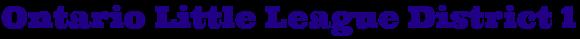 ontariodistrict1littleleague.com