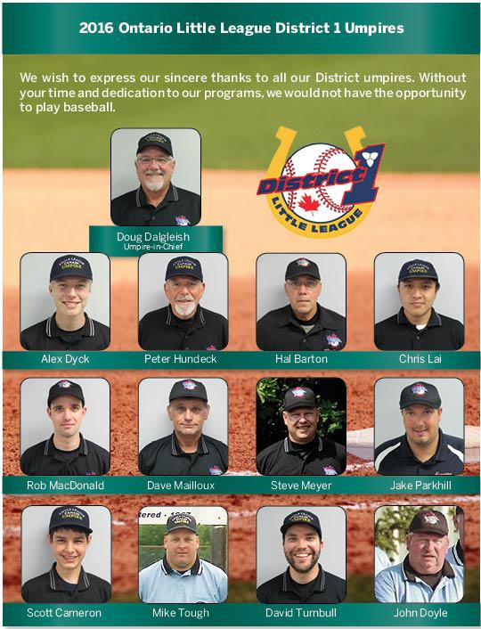 2016 Umpires