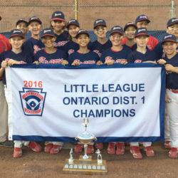 High Park Braves - District 1 Major Champions