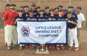 High Park Braves - District 1 Major Champions